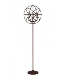 gyro floor lamp at rust 48x177x46cm