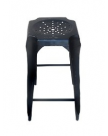 tabouret de bar noir use