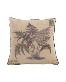 coussin fougere 40x40cm