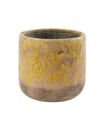 pot amanda jaune D14 x 16.5 cm