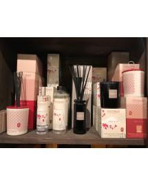 bougie parfumee rechargeable esprit de the gris azur