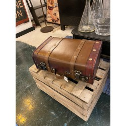 set 2 valise façon cuir