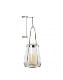 applique lanterne triangle 10x21cm