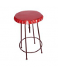 table haute plateau capsule rouge 60cm