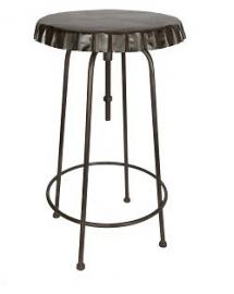 table haute plateau capsule antique 60cm
