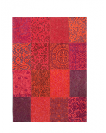 tapis vintage orange purple 170x240cm
