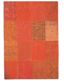 tapis vintage orange 170x240cm