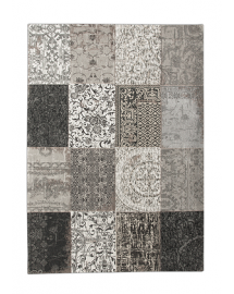 tapis vintage black and white 100x580cm