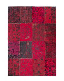 tapis vintage red 80x400cm