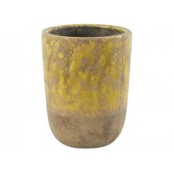 pot amanda jaune D20.5 x 27 cm