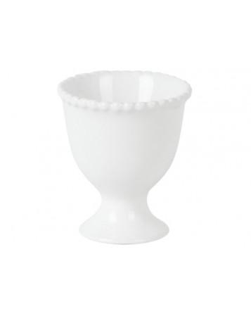 coquetier chiara blanc 6.5cm