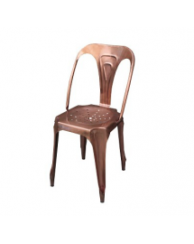 chaise cuivre
