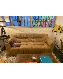 ruffed compact sofa 3 seater warrior 187x72x90cm