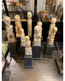 collection de statuettes s/10