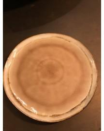 assiette plate grimaud rose