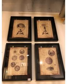 frames A4 clock set/4