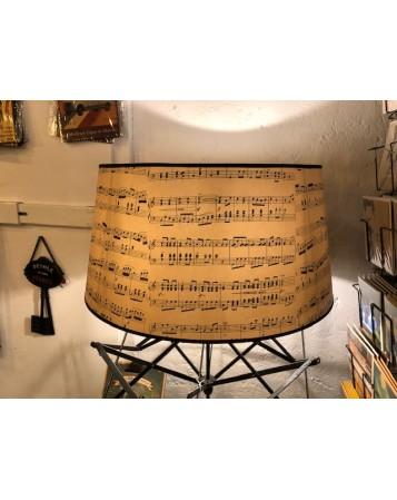 abat jour tambour musique 60cm
