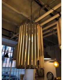 lustre cyl blanchi 50x34cm