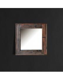 axel mirror black 130x130