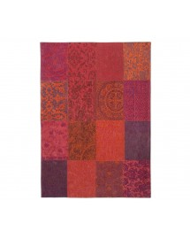 tapis orange purple 140x200