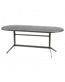 table a manger métal 200x90x78