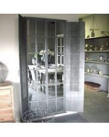 miroir volet persienne