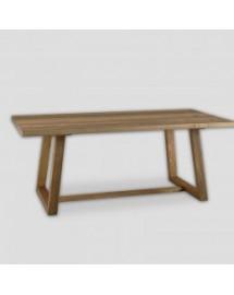 table de repas bois naturel 200x100x78