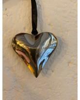 cœur en métal 10cm